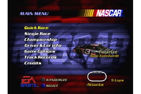 NASCAR 2000 Game Download | GameFabrique