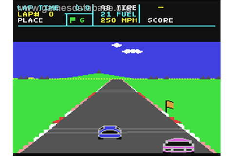 Richard Petty's Talladega - Commodore 64 - Games Database