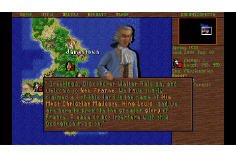 Sid Meier's Colonization - Download - Free GoG PC Games