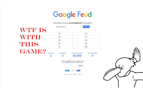 HOW TO BUILD... A SHIT GAME | Google Feud #1 - YouTube