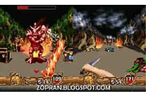 Orcs and Elves II 3D RPG Java Game