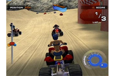 ATV Quad Power Racing 2 Sony Playstation 2 Game