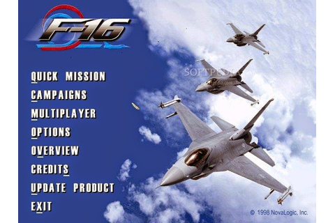 Download F-16 Multirole Fighter Game For PC