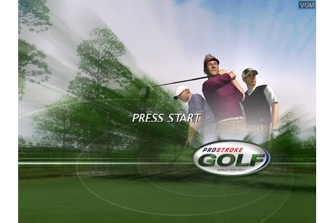ProStroke Golf - World Tour 2007 for Microsoft Xbox - The ...