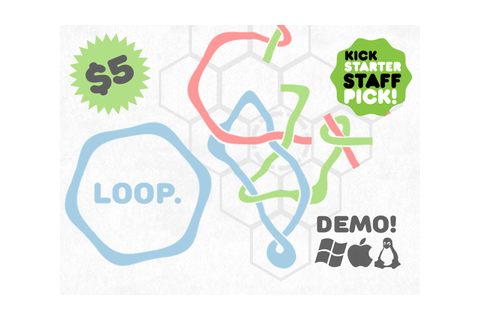 LOOP: A Tranquil Puzzle Game by John Cullen —Kickstarter