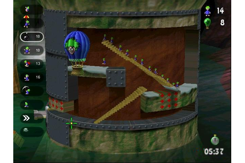 Lemmings Revolution Download (2000 Puzzle Game)