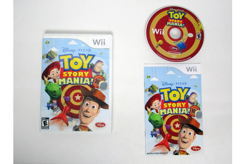 Toy Story Mania game for Nintendo Wii | The Game Guy