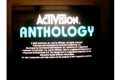 Activision Anthology (PS2) Review - YouTube