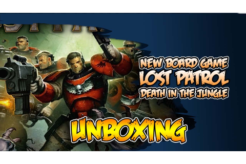 40k Lost Patrol - Unboxing & Review Board Game - YouTube