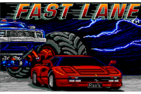RETRO SPIRIT GAMES: Coin-Op Classics - Fast Lane (Konami)
