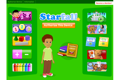 More Starfall for Members - screenshot