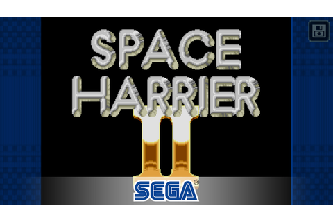 Space Harrier II is the latest game joining SEGA Forever ...