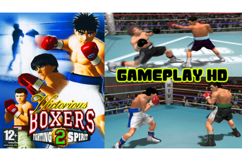 Victorious Boxers 2 Fighting Spirit - 2 Fights Gameplay ...