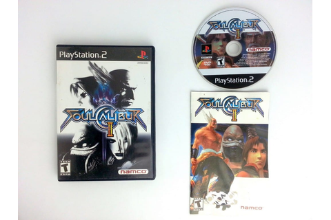 Soul Calibur II game for Playstation 2 (Complete) | The ...