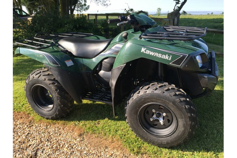 Kawasaki KVF 650 cc V-twin 4x4 Farm Quad Bike - Like ...