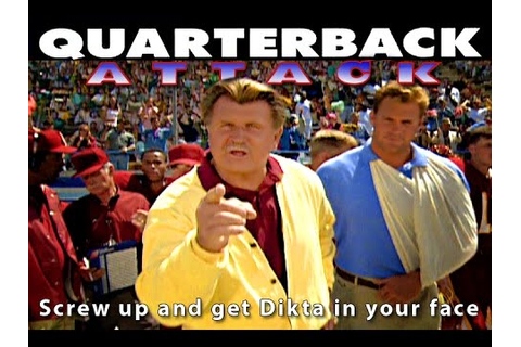 Mike Ditka Goes Crazy Quarterback Attack - YouTube