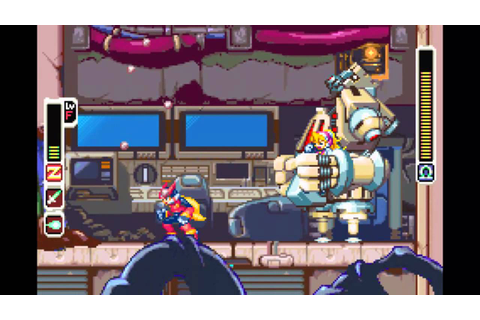 Let's Play Mega Man Zero [Blind] ~ Part 1 ~ Game Over ...