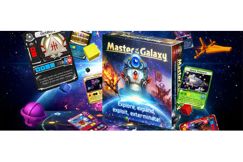 """Master of the Galaxy"" will be on Kickstarter starting ..."