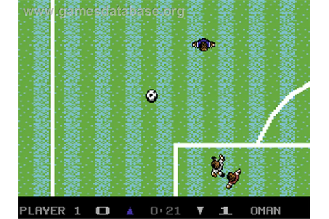 Microprose Pro Soccer - Commodore 64 - Games Database