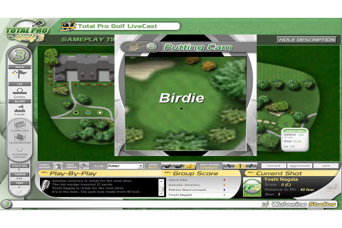Total Pro Golf 3 [Online Game Code]