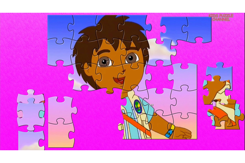 GO, DIEGO, GO! Animated Game for Kids! Beautiful Puzzle ...
