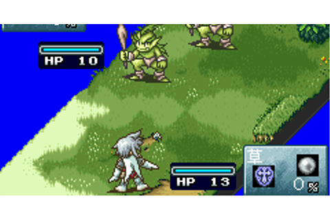 Game Boy Advance - Tales of the World: Summoner's Lineage ...