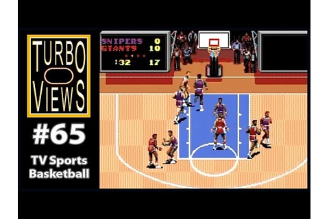 """TV Sports Basketball"" - Turbo Views #65 (TurboGrafx-16 ..."