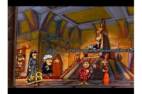 Discworld Game - The Fool - YouTube
