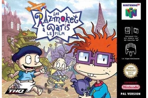 Les Razmoket a Paris : Le Film sur Nintendo 64 Jeu Video