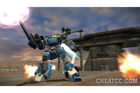 Armored Core: Silent Line Portable Review for PlayStation ...