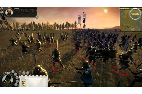 Shogun 2 Total War HD gameplay - YouTube