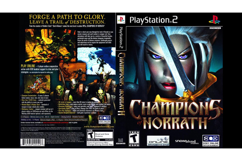 Champions of Norrath for the PlayStation 4 - YouTube