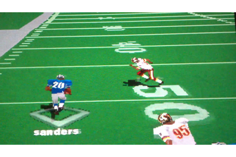 NFL GAMEDAY '98/ BARRY SANDERS DA SICKEST RB EVER [PS1 ...