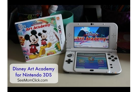 Review & Demo: Disney Art Academy for Nintendo 3DS - YouTube