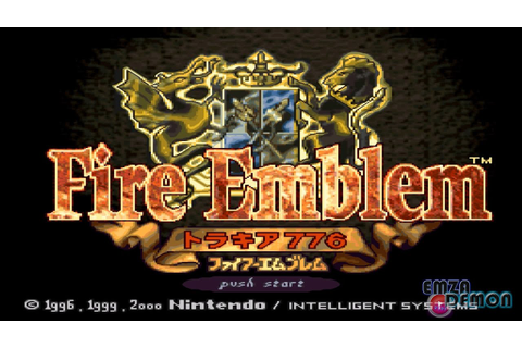 Fire Emblem HD Thracia 776 [ Intro Title Screen ] - YouTube