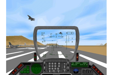 F-16 Fighting Falcon - PC Review and Full Download | Old ...