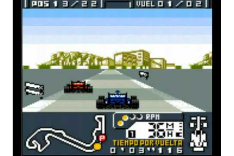 F1 World Grand Prix (Game Boy) Gameplay - YouTube