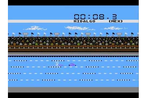 Summer Games for the Atari 8-bit family - YouTube
