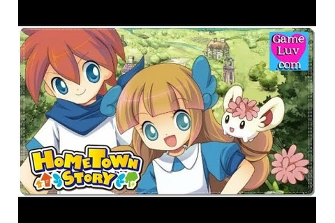 Hometown Story game play 1 - YouTube