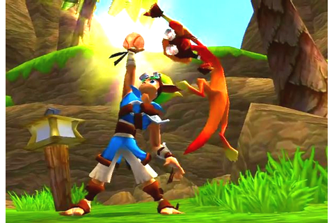 Jak and Daxter: The Precursor Legacy Review |BasementRejects