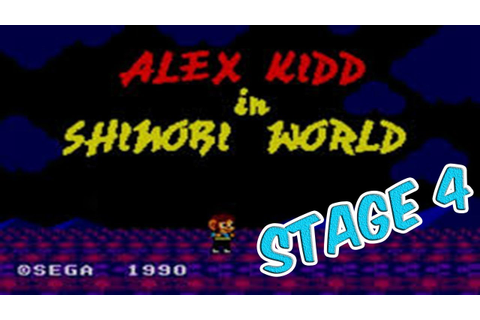 Alex Kidd in Shinobi World Playthrough (Sega Master System ...
