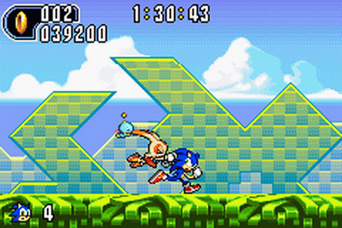 Play Sonic Advance 2 Nintendo Game Boy Advance online ...