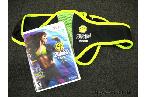 Nintendo Wii Game ZUMBA FITNESS 2 With Belt for Wii Remote ...