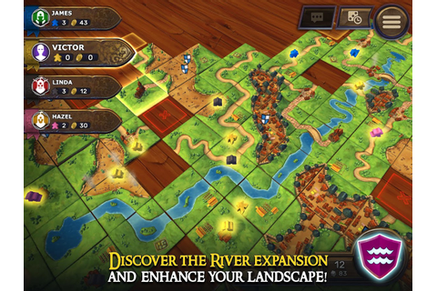 Carcassonne: Official Board Game -Tiles & Tactics ...