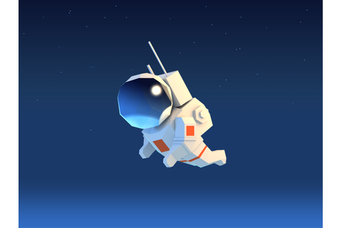 Astronaut by Alex Pushilin | Dribbble | Dribbble
