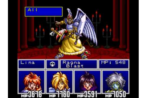 Slayers - Final Boss - YouTube