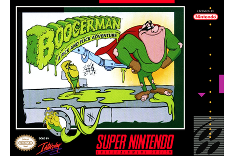 Play Boogerman - A Pick and Flick Adventure Nintendo Super ...