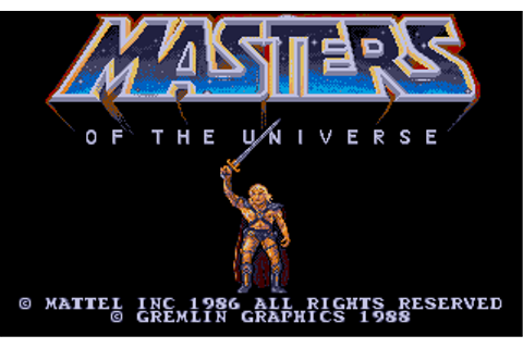 Masters of the Universe: The Movie Screenshots for Atari ...