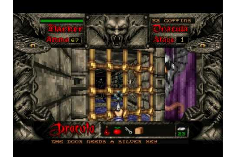 DOS - Bram Stoker's Dracula (Stage 1) [Part 1] - YouTube