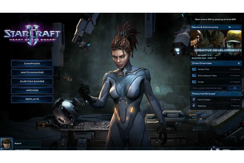 StarCraft 2: Heart of the Swarm gameplay trailer - YouTube